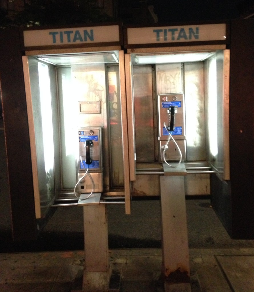 Phone Booths NYC